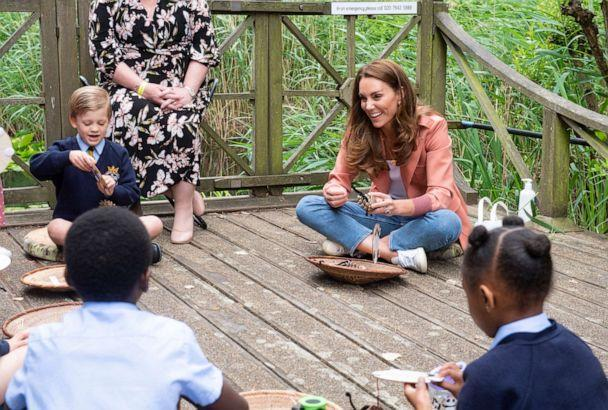 PHOTO: Catherine, Duchess of Cambridge visits the 'Urban Nature Project' at the Natural History Museum on June 22, 2021 in London. (Geoff Pugh/WPA Pool/Getty Images)