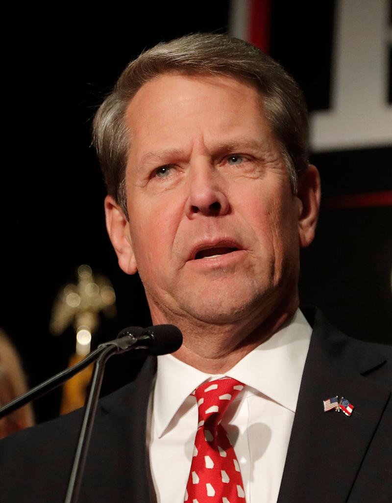 Georgia Gov. Brian Kemp earlier this month signed the anti-abortion bill into law. It takes effect in January. (Photo: ASSOCIATED PRESS)