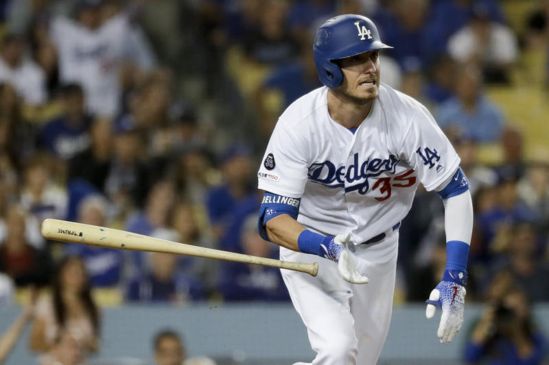 Los Angeles Dodgers outfielder Cody Bellinger wins NL MVP. (AP Photo/Chris Carlson)