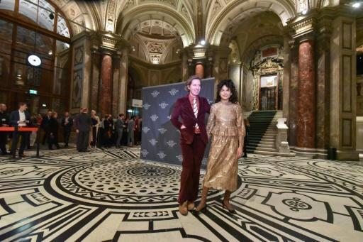 US film director Wes Anderson curated the ecletic exhibition in Vienna with his partner, artist Juman Malouf