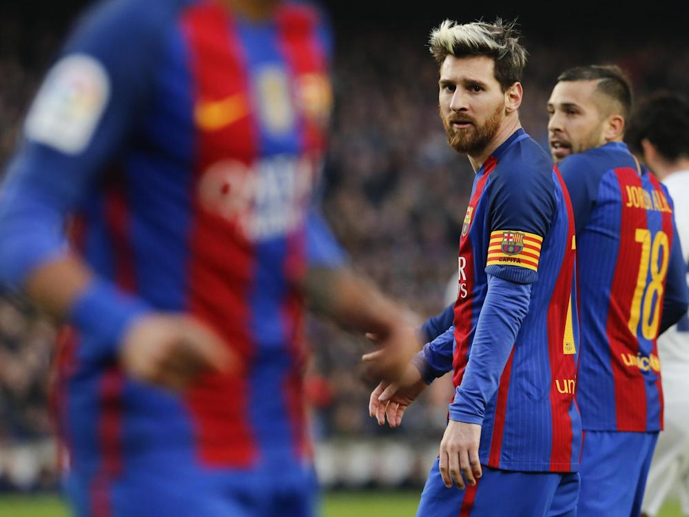 There are no guarantees Messi's Barcelona will reach the next round: Getty
