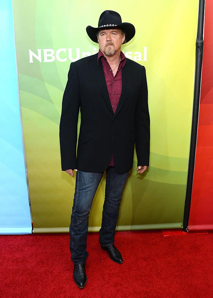 """Trace Adkins attends NBCUniversal's """"2013 Winter TCA Tour"""" Day 1 at Langham Hotel on January 6, 2013 in Pasadena, California."""