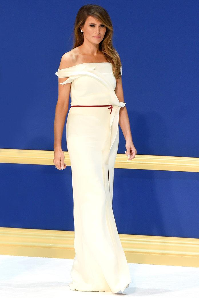 First Lady Melania Trump Will Donate Her Inaugural Ball Gown