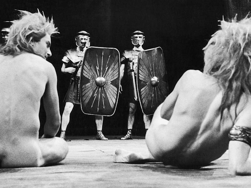 Boganov was prosecuted for a scene in 'The Romans In Britain' (Getty)