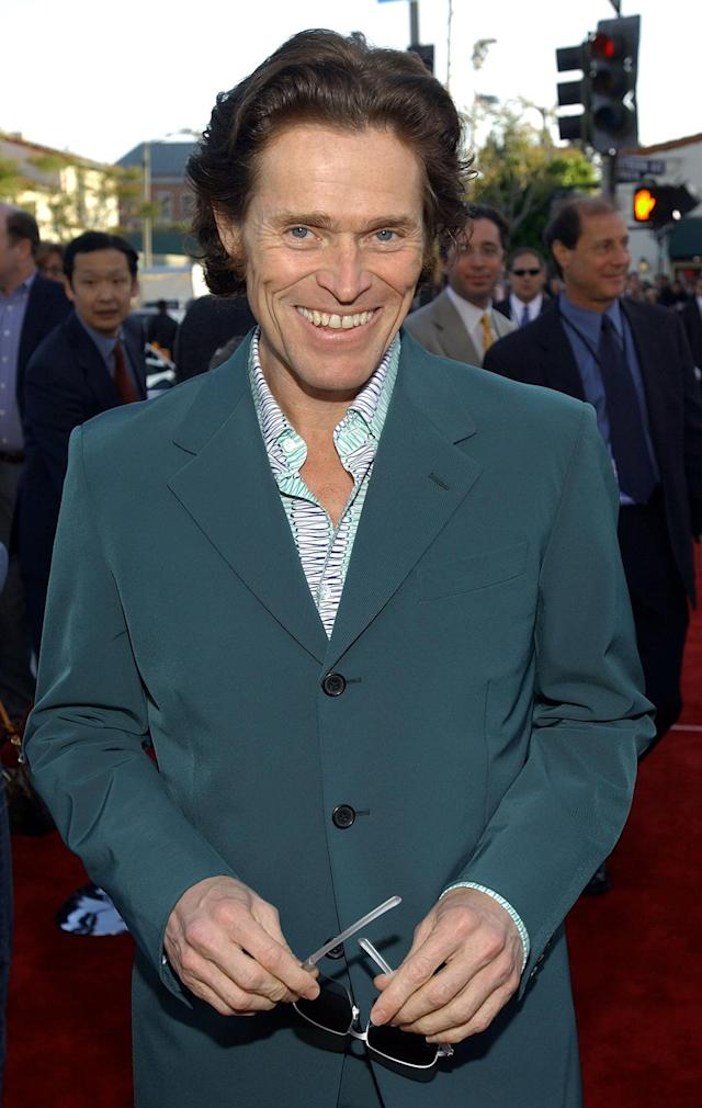 <p>Helping establish the cinematic superhero formula of casting Oscar-caliber actors in the villainous roles, Dafoe essayed the role of Norman Osborn/Green Goblin in <em>Spider-Man</em>. (Photo: Vince Bucci/Getty Images) </p>