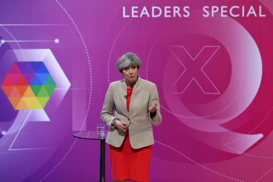 Attacking Labour's 'magic money tree' was a theme in Theresa May's 2017 general election campaign (WPA Pool/Getty)