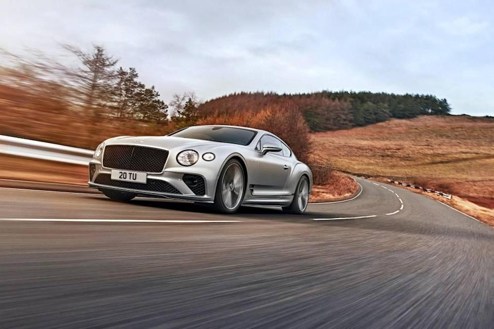 Bentley Continental GT Speed ©  lee brimble