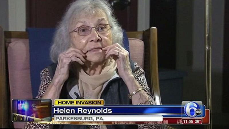 An 88-year-old woman managed to stop an intruder raping her by claiming she had HIV. Source: ABC 6