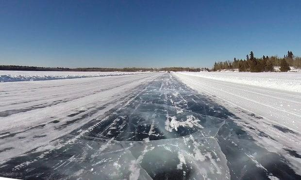 A winter ice road in 2015 near Shoal Lake, Manitoba. Statistics Canada says it's going to be sending more census enumerators than ever to survey people in Indigenous communities in Northern Canada.