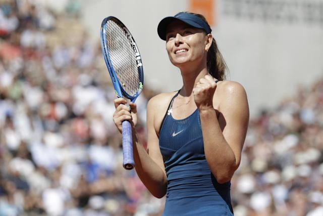 Sharapova calls time on her-18 year professional career: AFP via Getty Images