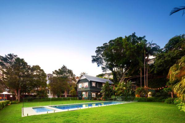 The Point Piper property has hit the market again. Image via Domain