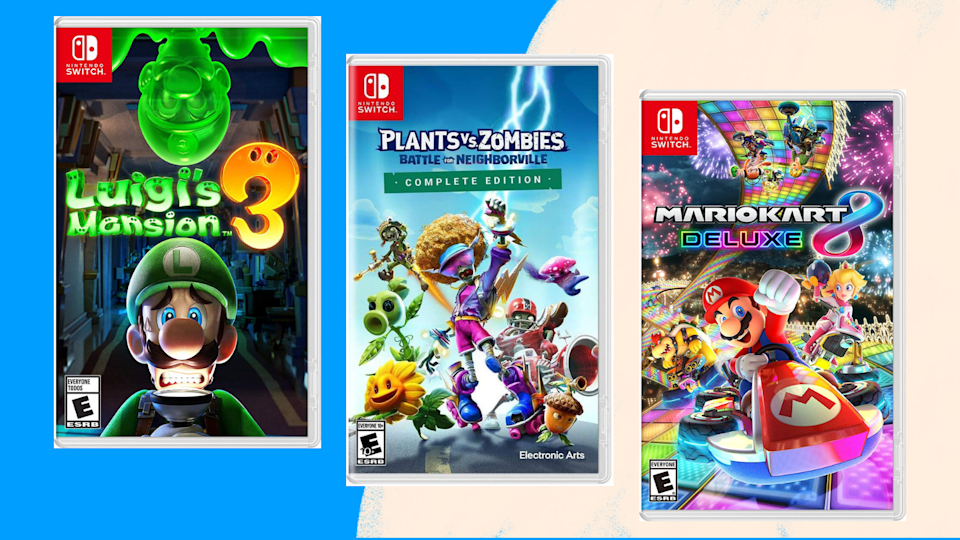 These are the best deals on Nintendo Switch games.