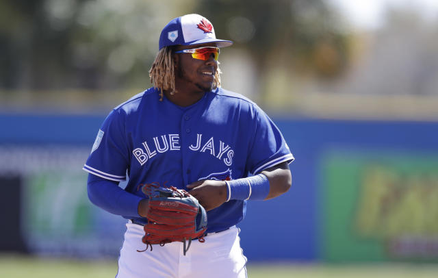 Vladimir Guerrero Jr. is healthy enough to be promoted… to Triple-A, that is.
