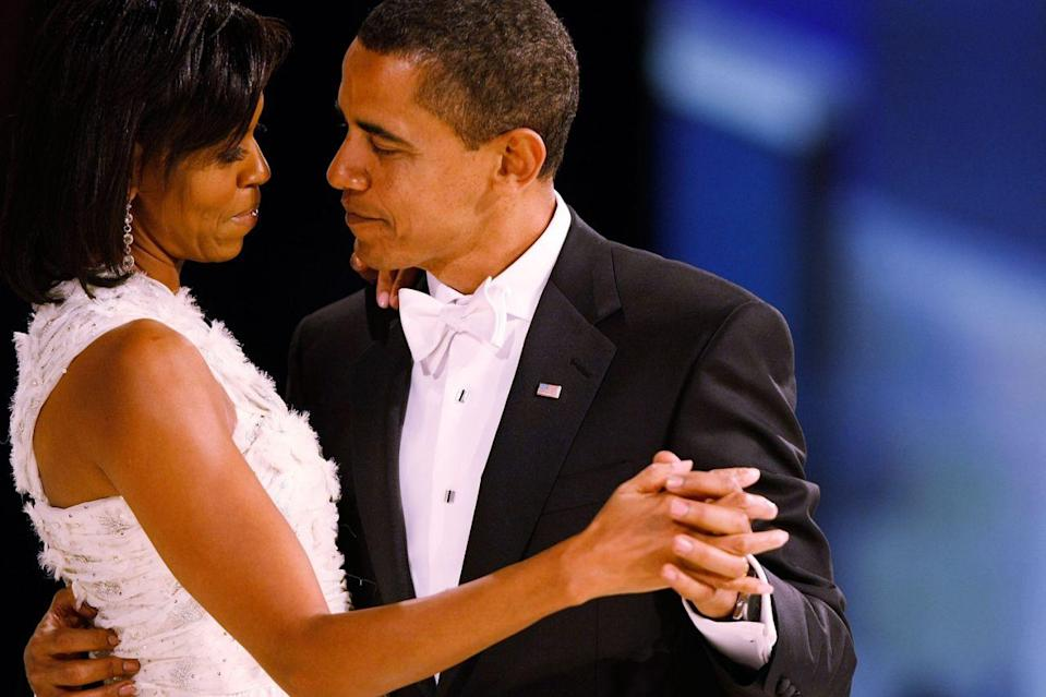 Barack and Michelle Obama have been married for 25 years. [Photo: Getty]