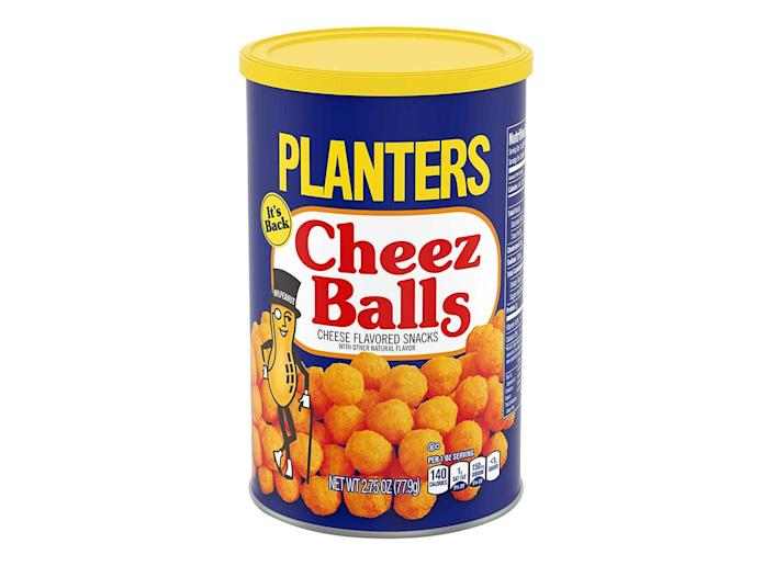 canister of planters cheez balls