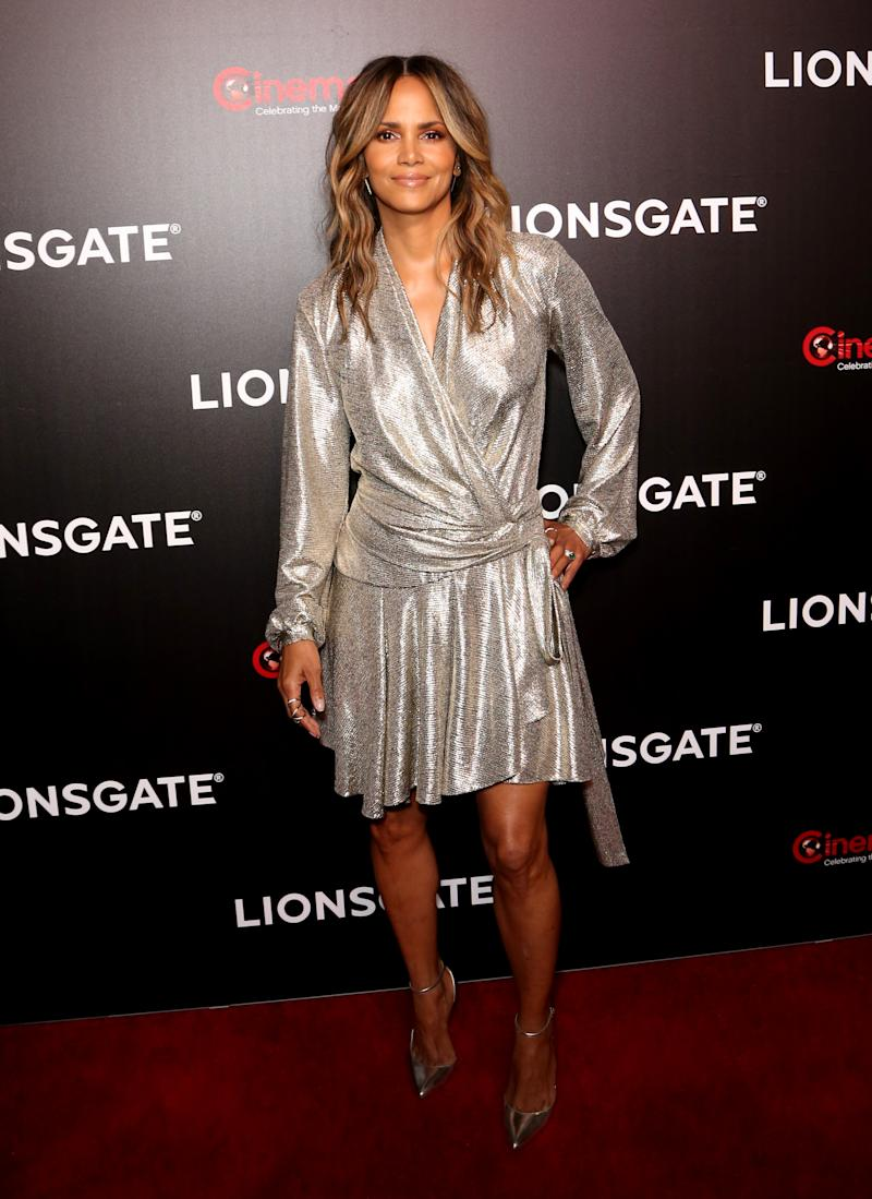 LAS VEGAS, NEVADA - APRIL 04: Actress Halle Berry attends the Lionsgate presentation during CinemaCon at The Colosseum at Caesars Palace on April 04, 2019 in Las Vegas, Nevada. CinemaCon is the official convention of the National Association of Theatre Owners. (Photo by Gabe Ginsberg/WireImage)