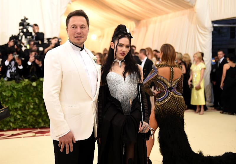 Elon Musk frequents galas at The Metropolitan Museum of Art in New York City, but has a controversial public persona (AFP Photo/Jason Kempin)