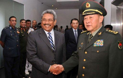 Liang (right) is the first Chinese defence minister to visit India in eight years