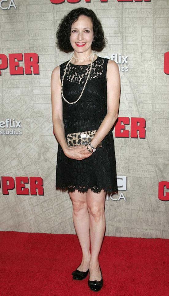 """Bebe Neuwirth attends the """"Copper"""" premiere at The Museum of Modern Art on August 15, 2012 in New York City."""