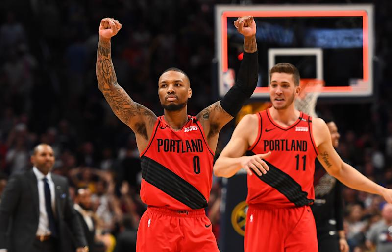 78e66c20027 Twitter reacts to the Portland Trail Blazers  Game 7 win over the Denver  Nuggets