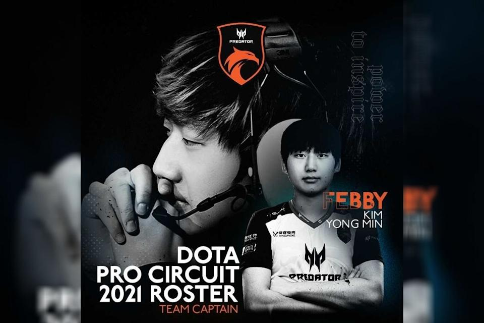 """TNC Predator shifts Kim """"Febby"""" Yong-min from coach to a playing position and team captain. (Photo: TNC Predator Facebook)"""
