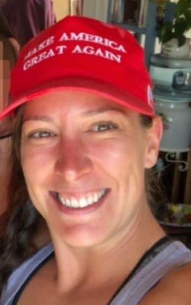 Ashli Babbitt was a 'strong Trump supporter', according to her husband Aaron - -/-