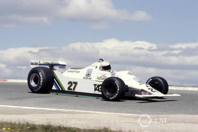 "Williams FW07 <span class=""copyright"">LAT Images</span>"