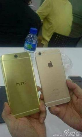 Rear-of-HTC-Aero-compared-with-the-Apple-iPhone-6