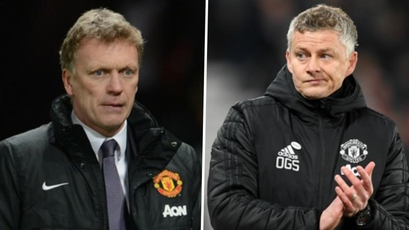 'The difference between Solskjaer and me is that he's being given time' - Moyes defends Man Utd record