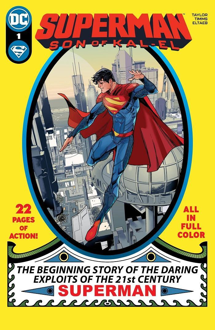The cover for issue one of Superman: Son of Kal-El.
