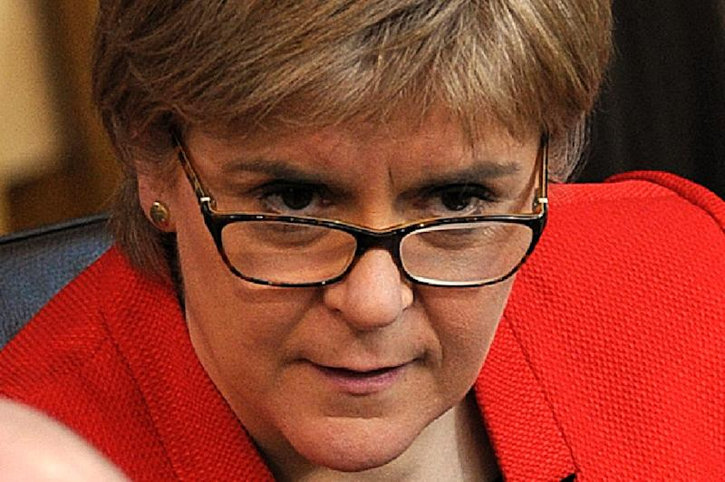 Scottish First Minister Nicola Sturgeon still has a few cards up her sleeve, experts say (AFP Photo/Andy Buchanan)