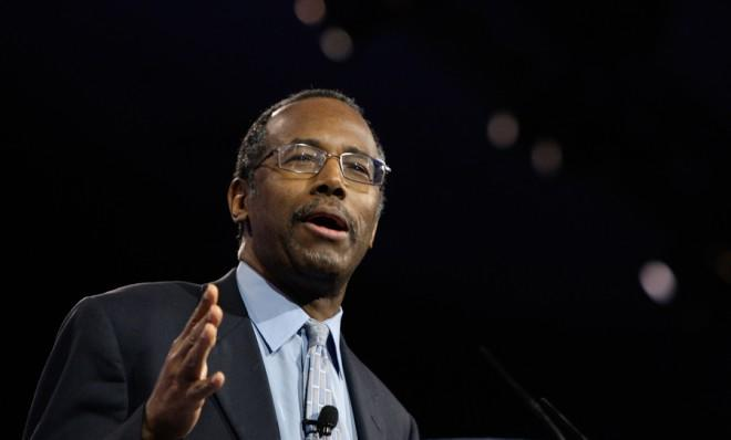 Dr. Ben Carson speaks at the Conservative Political Action Conference in Maryland on March 16.