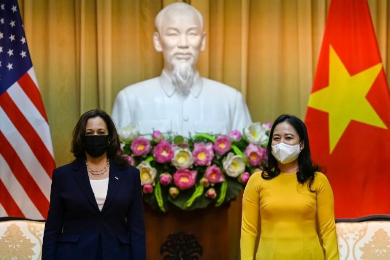 Vice President Kamala Harris' visit is the first to Vietnam by a sitting US vice president