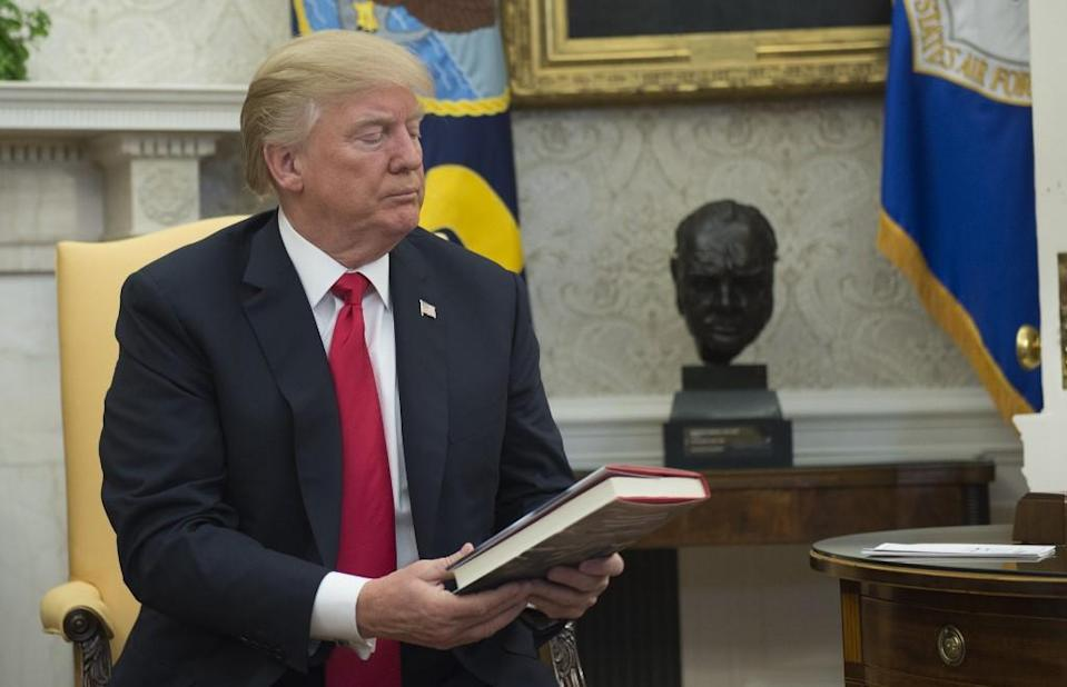 While Donald Trump is not a fan of reading, he often encourages his supporters to buy books written by his political allies.