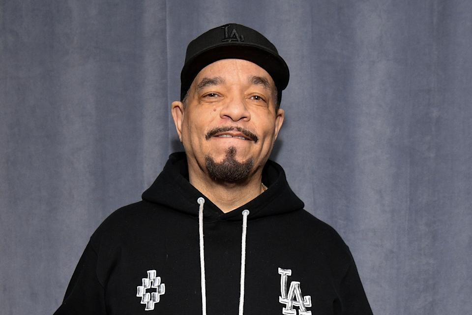 Ice-T shares photo of hospitalized father-in-law to warn people about coronavirus. (Photo: Getty Images)