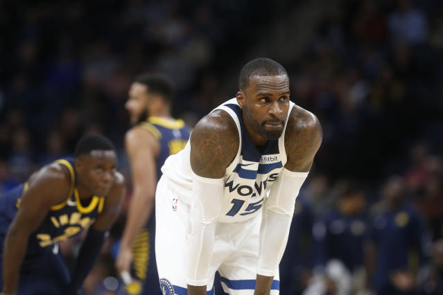 "<a class=""link rapid-noclick-resp"" href=""/nba/players/5165/"" data-ylk=""slk:Shabazz Muhammad"">Shabazz Muhammad</a> is in his fifth NBA season. (AP)"