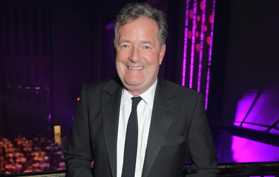 Piers Morgan is hoping to win this year. (Getty)