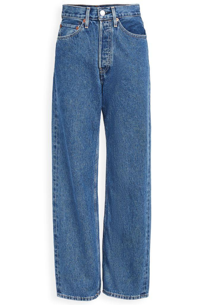 redone jeans, jeans, mom jeans, bella hadid