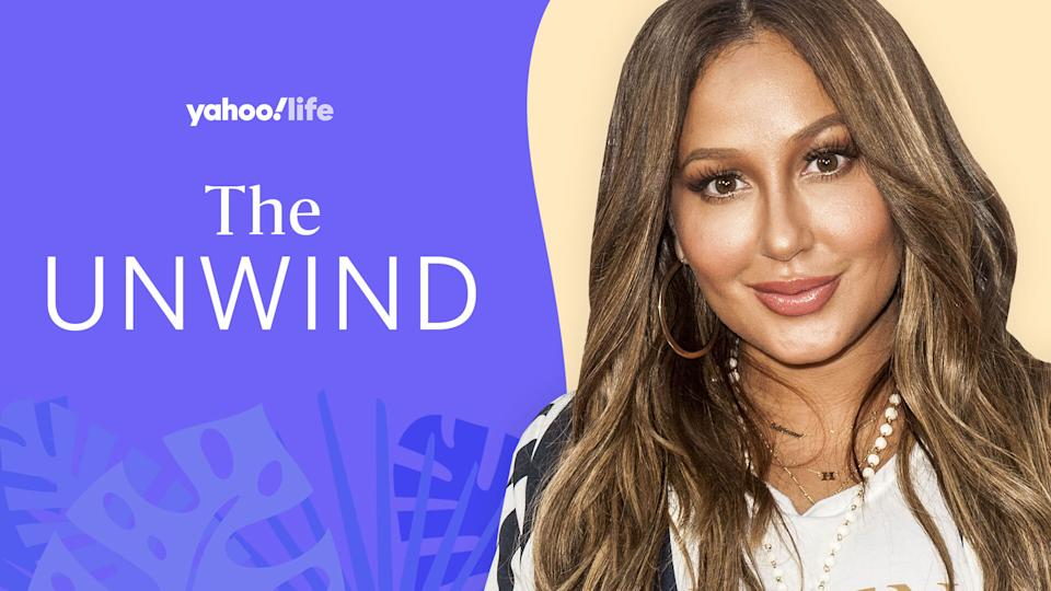 Adrienne Bailon Houghton shares her beauty tips and approach to mental health. (Photo: Getty; designed by Quinn Lemmers)