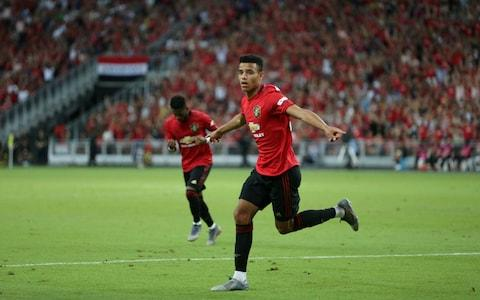 Mason Greenwood has impressed for United on their tour of the US - Credit: Getty Images