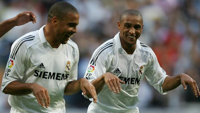 The Brazilian World Cup winner has discussed his time as a Galactico at Santiago Bernabeu alongside his old friend