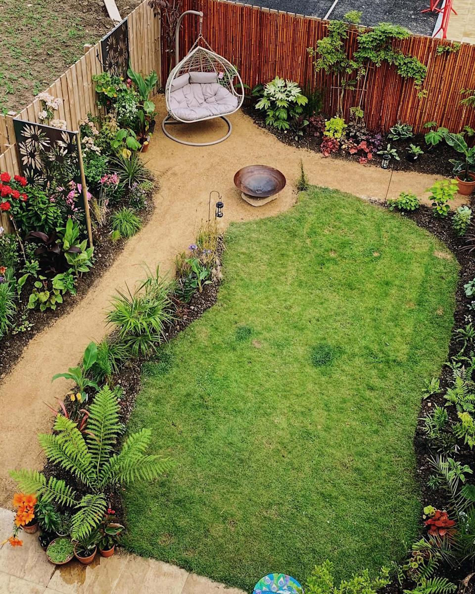 Chris estimates that he has up to 300 variations of plants and has spent almost $7,500 on tropical plants since starting his garden transformation. Photo: Caters