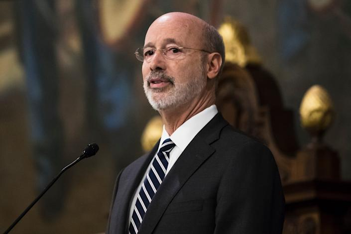 Pennsylvania Gov. Tom Wolf will pay tribute to synagogue shooting victims on an upcoming trip to Europe.