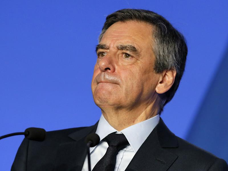 Francois Fillon endorsed Emmanuel Macron ahead of the final round of the election: AP