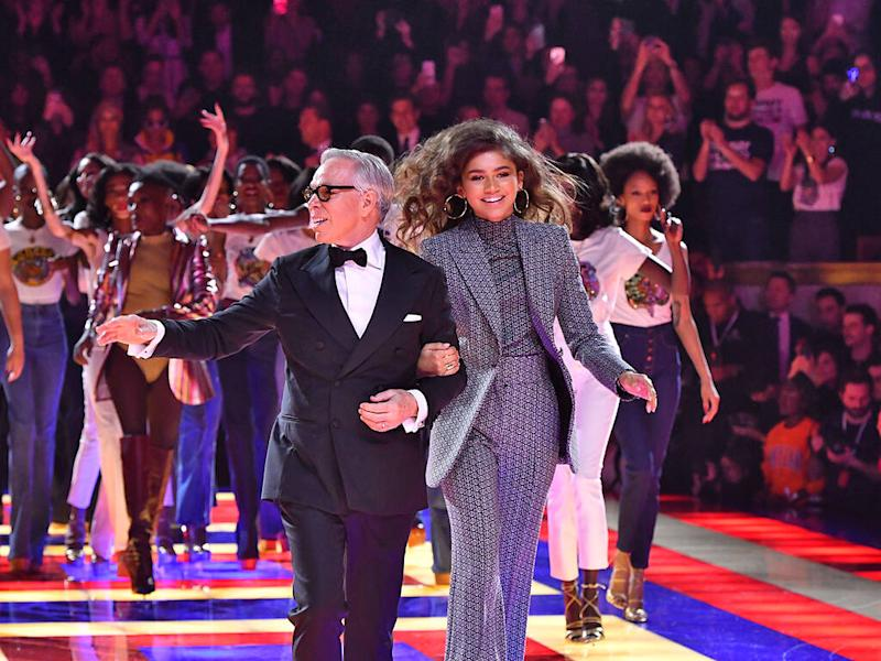 Tommy Hilfiger thrilled to collaborate with Zendaya before her career 'skyrocketed'