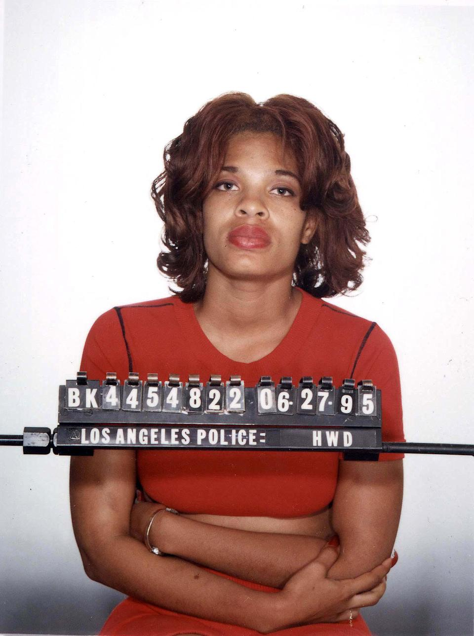 Divine Brown, the prostitute arrested with actor Hugh Grant in Los Angeles, California (Photo by Steve Granitz/WireImage)