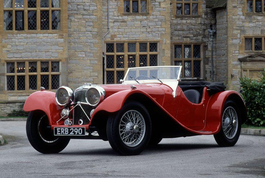 <p>This long-hooded beauty is an icon of '30s automotive styling. SS Cars later became known as Jaguar.</p>