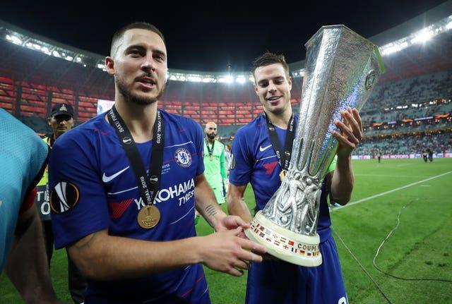 Eden Hazard hit a brace in his final game for Chelsea as they thrashed Arsenal in the 2019 Europa League final.