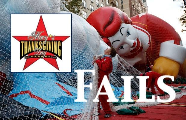 10 All-Time Macy's Thanksgiving Day Parade Fails