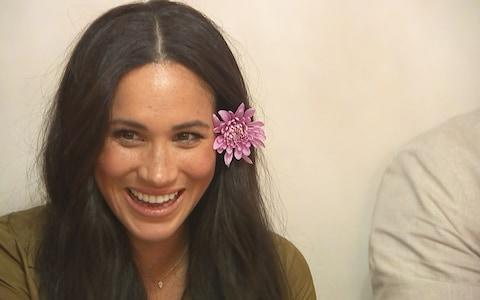 Duchess of Sussex during the royal tour of South Africa - Credit: ITV